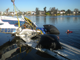 Contact Parker Diving Service in Marin County - airplane water removal